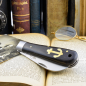 Preview: Otter anchor knife small 174 ML grenadil wood stainless/carbon with hole