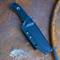 Preview: TRC K1-NSN ELMAX tactical outdoor knife incl. Kydex and Teklok