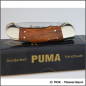 Preview: Custom knife Puma Honduras rosewood