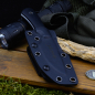 Preview: J.E. Made Knives - B.U.K. Neckknife S35VN Stahl G10 schwarz