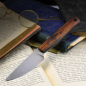 Preview: Heidi Blacksmith knife with handle made of desert iron steel 125SC