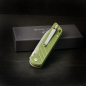 Preview: QSP-Knives PARROT Pocket Folder 440C Steel G10 Army Green Linerlock