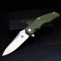 Preview: QSP-Knives PANGOLIN Folder D2 Steel G10 Army Green Linerlock