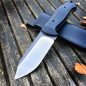 Preview: SK02 Outdoormesser with G10 Beschalung and SB1 steel produced by J. Schanz