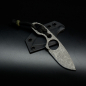 Preview: ​Forge Works Neck Knife Knife Pathfinder with Cryo Treatment Steel SB1 and Kydex