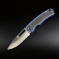 Preview: QS127-C Puffin Framelock Folder by QSp Knives with CPM S35VN Steel and Carbon