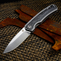 Preview: QSP Puffin Taschenmesser 127-D-II Two tone finish satin CPM S35VN