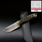 Preview: MDK - SK01 EDC knife pine cones yellow SB1 steel