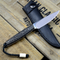 Preview: Bateleur - Arno Bernard Knives - EDC Knife N690 with Snakeskin Carbon Handle