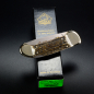 Preview: Puma pocket knife custom with deer horn and backlock locking