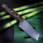 Preview: SK05 Outdoor - Heidi 100% custom knife with carbon steel O1 stabilized maple
