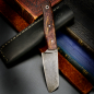 Mobile Preview: SK05 Outdoor - 100% Custom Messer 1.2235 Carbonstahl mit stab. Ahorn produziert Heidi Blacksmith
