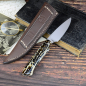 Preview: Rarity Arno Bernard Knives - Galago from the Bush Babies series with kudu bones