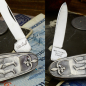 "Preview: Old man's knife from Germany - blades from the year ca.1958 motif ""Wanderer"""