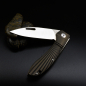 Preview: J.E. Made Knives - Phoenix all black Titanium Slipjoint CPM S35VN