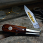 Preview: Böker Classic Gold Barlow Pocket Knife 440C with desert ironwood