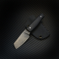 "Preview: Heidi Blacksmith Custom Messer ""Small SK-V"" Stahl 1.2235 mit G10 schwarz"