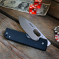 Preview: Böker Plus Messer Lancer Black 440C stonewashed mit Clip und G10 schwarz