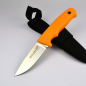 Preview: Linder easy track Super Edge 1 knife ATS34 steel hunting knife