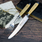 Preview: Rare Original Puma Cutlery - Knife & Fork