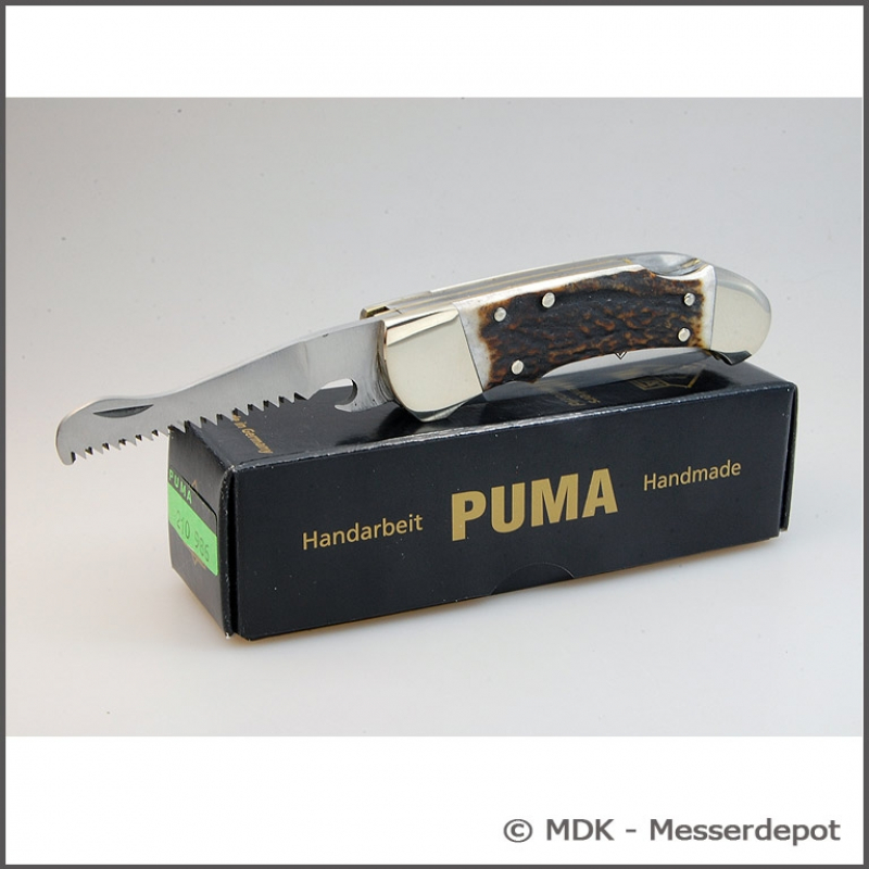 Two-piece Puma hunting knife from the Custom series