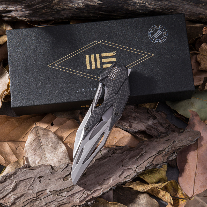 Limited Edition WE Knives Eschaton 719 Carbon / Titan