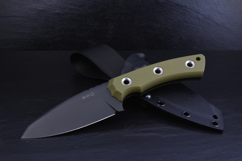 SK04 Tactical Messer DLC ELMAX G10 OD-Green
