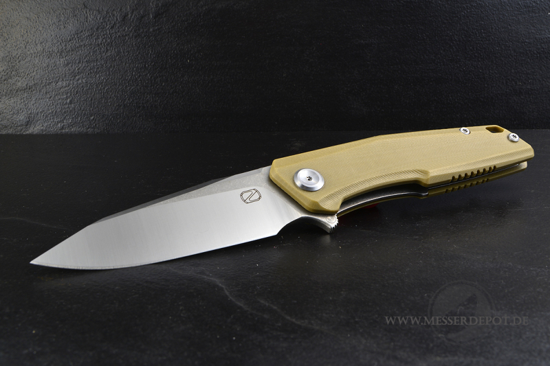 Droppoint STEDEMON ZKC-C02 Folder Desert with 440C satin blade