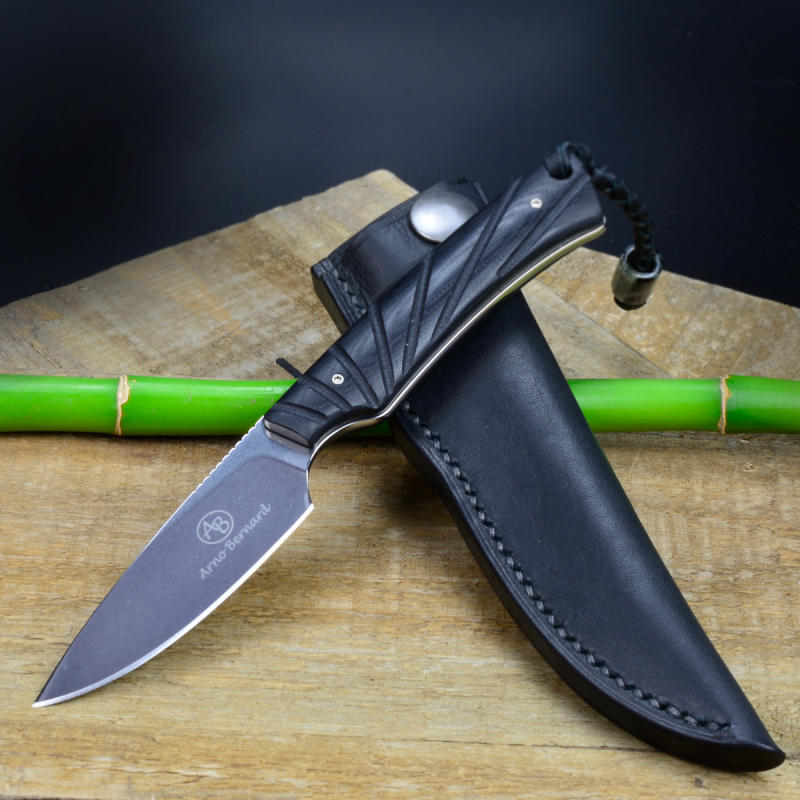 Marmoset - Arno Bernard Knives - EDC knife N690 with G10 handle
