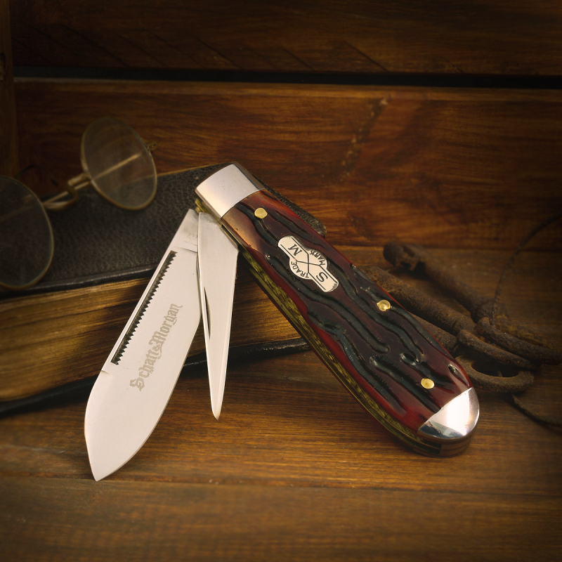 "Schatt & Morgan knife ""Harness Jack"" with stainless blade"