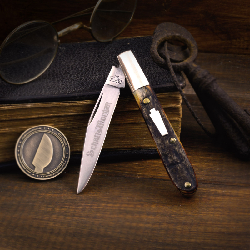 Schatt & Morgan Mini Barlow # 67 with stainless blade