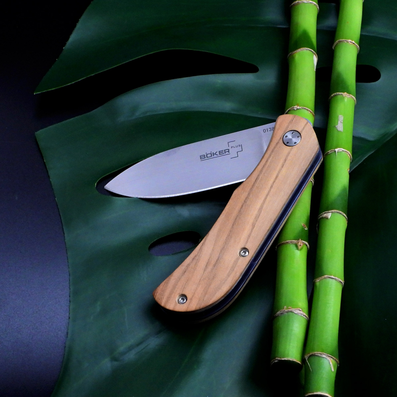 Böker Plus knife Exskelibur II Olive - rarity