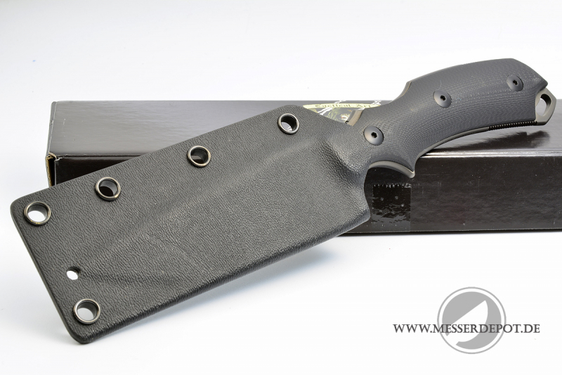 Bastinelli Knives - R.E.D. PVD coated EDC knife