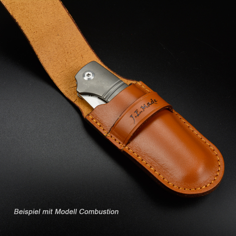 High quality knife leather case by J.E. Made Knives