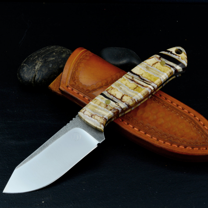 Special Edition - SK01 with Mammoth molar EDC Neck Knife