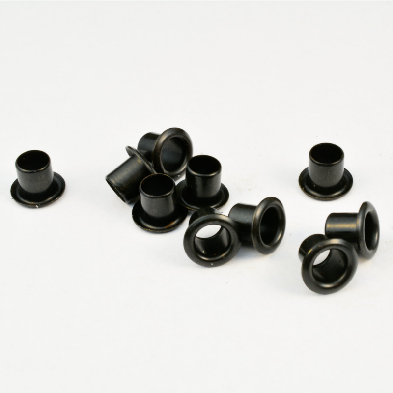 Standard eyelets black for Kydex plates 2.0mm