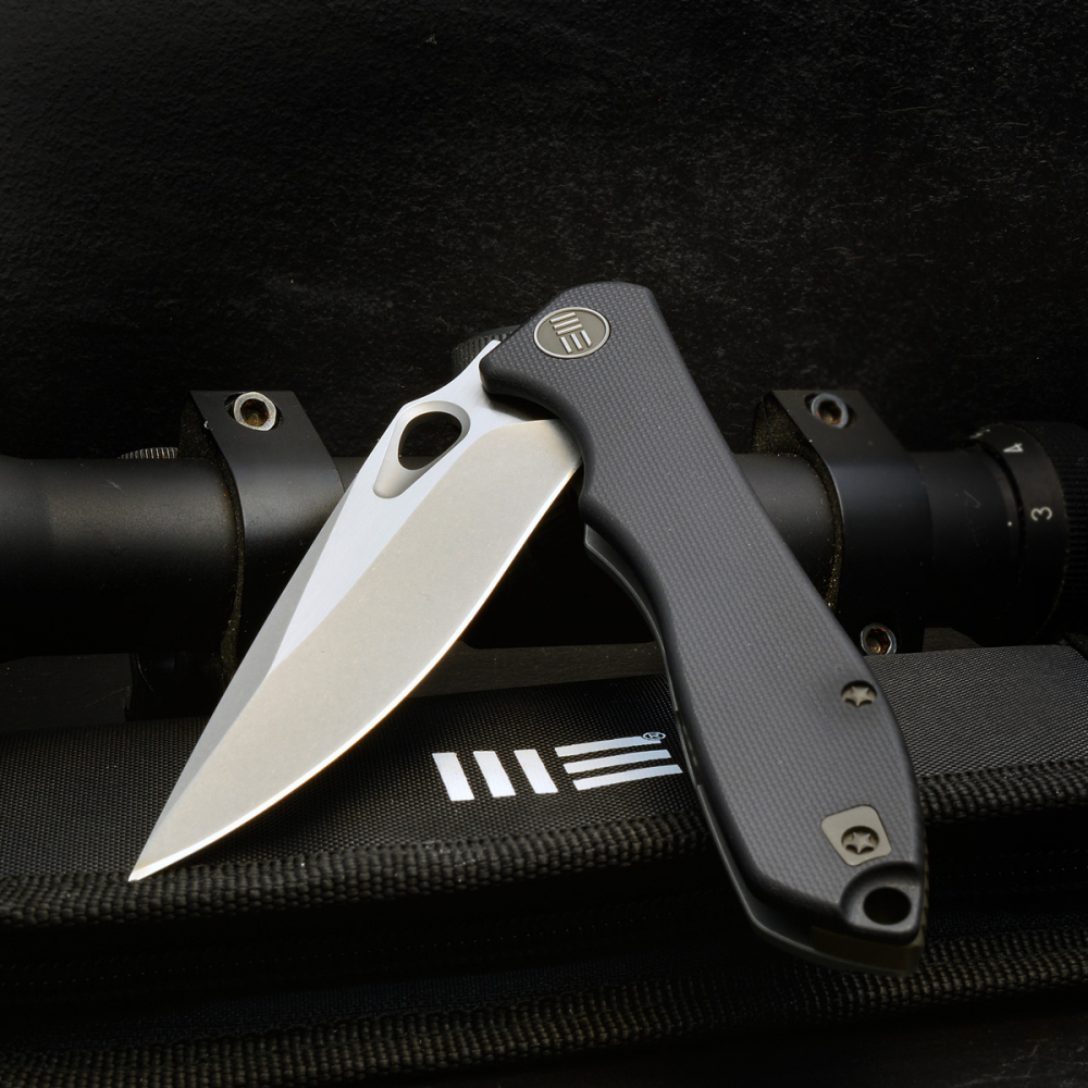 Folder 715F Ignition of WE-Knives with G10 and titanium coating