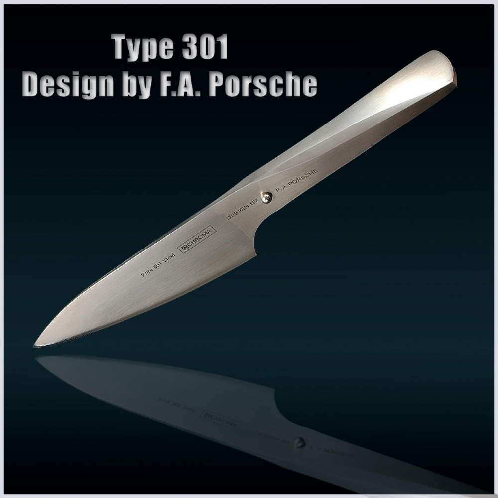 P3 Design by F.A. Porsche Kochmesser 150mm Chroma Type 301