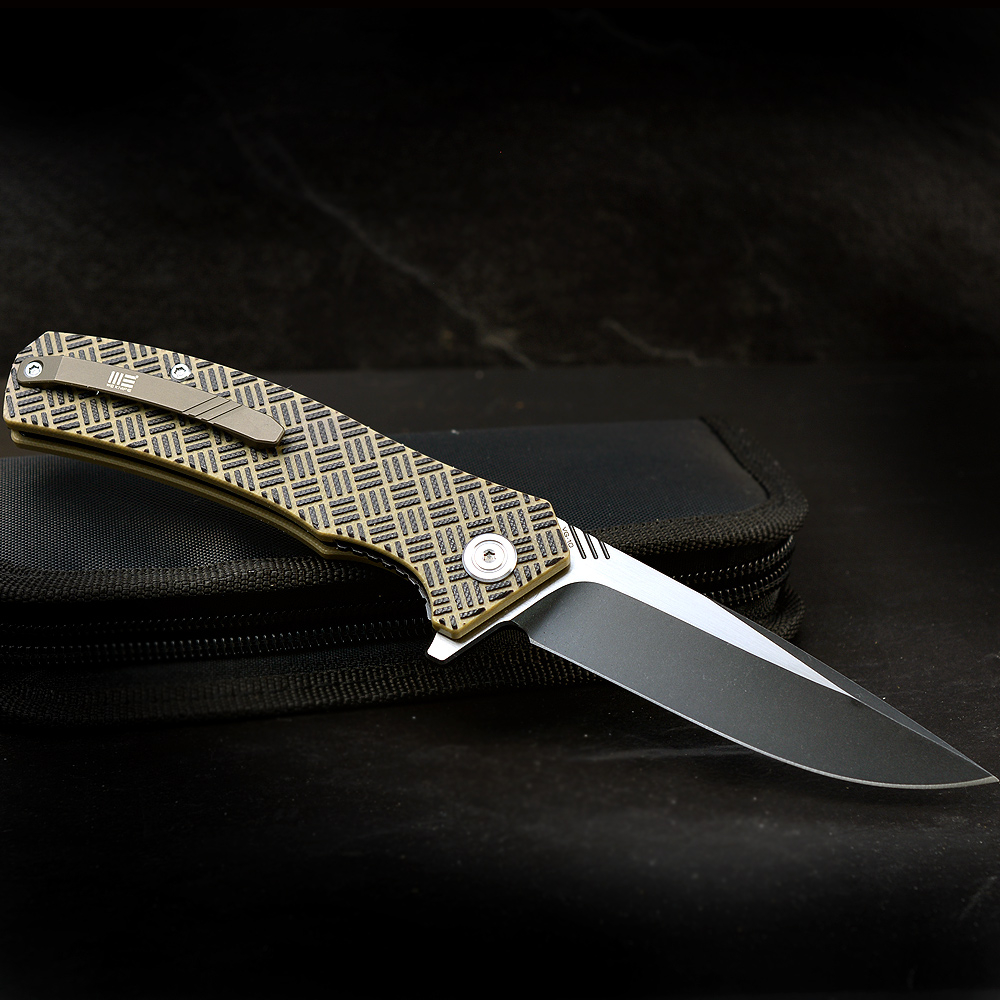 WE-Knives 711-D Blitz Folder in two-tone finish
