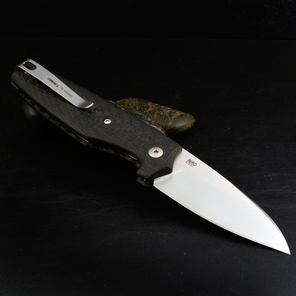 Viper DAN-2 Folder N690 Steel Carbon Handles Slipjoint Knife