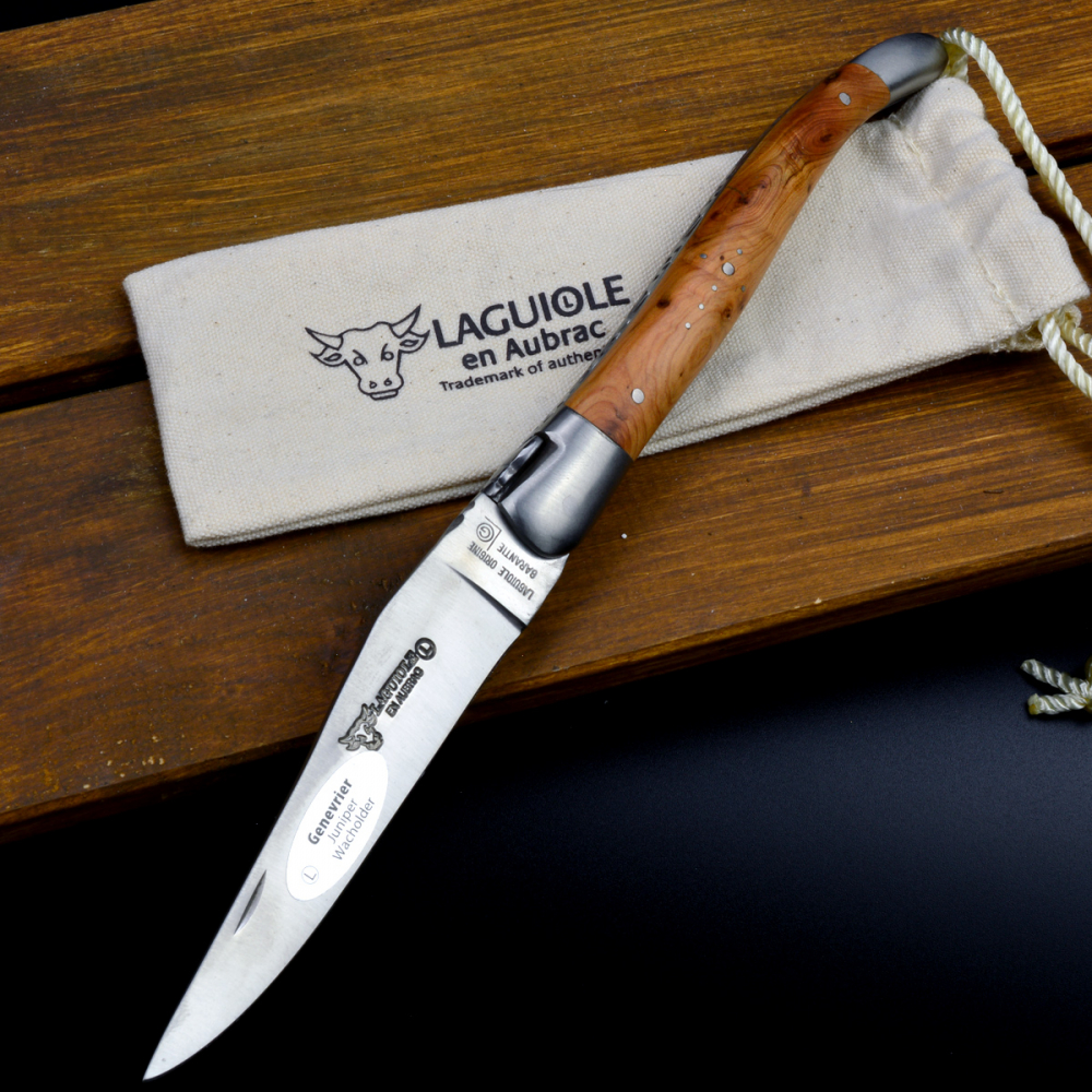 Laguiole en Aubrac Classic - Knife with juniper wood