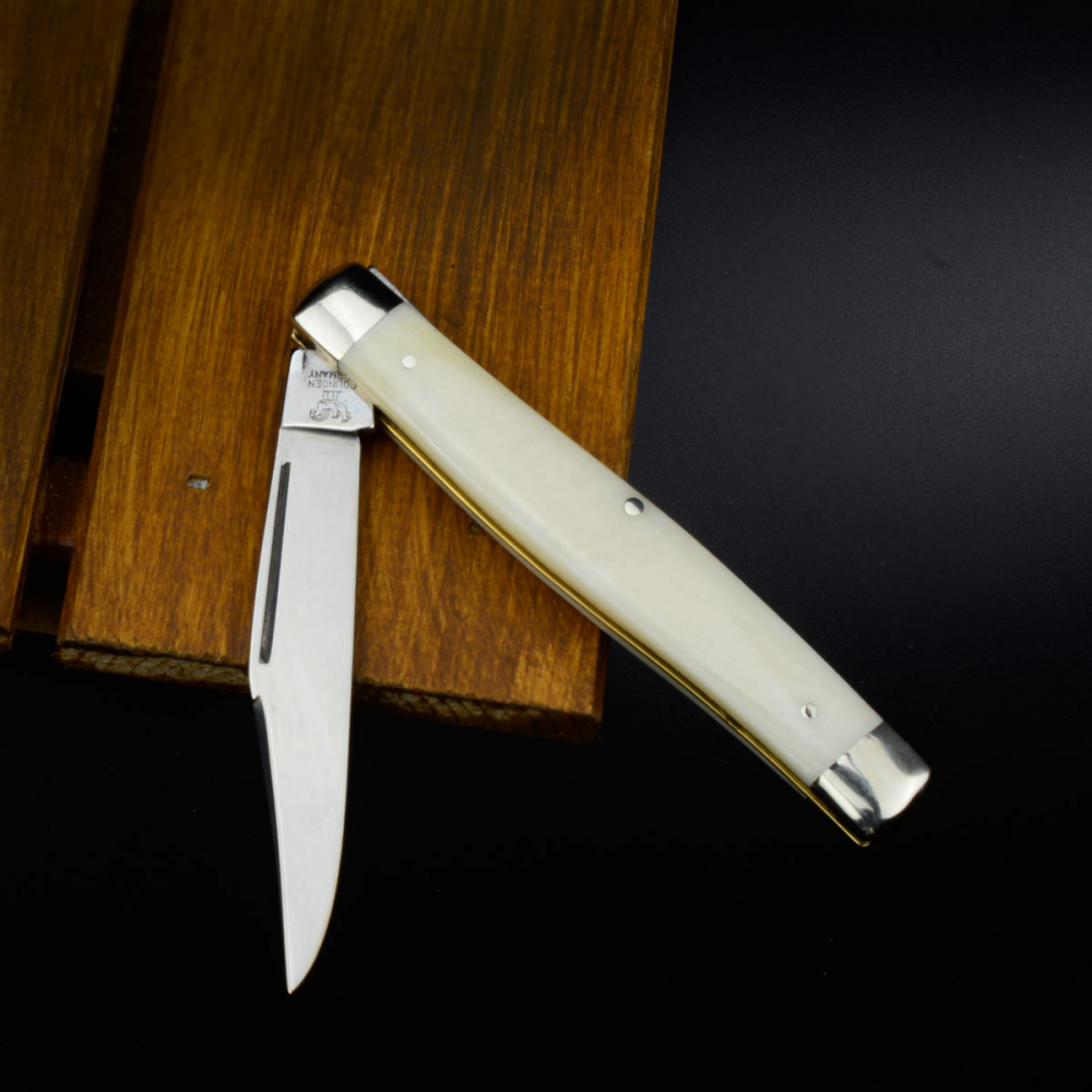 Hen & Rooster 1 piece Stockman Bertram knife with stainless steel handle