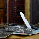 "Old men's knife from Solingen - blades about 50 years old motif ""hunters & hunting dogs"""