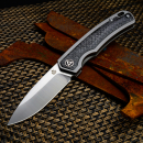 QSP Puffin Taschenmesser 127-D-II Two tone finish satin CPM S35VN