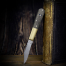 Barlow Expedition Böker pocket knife with micarta olive and blasted brass
