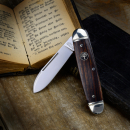 Boker Club Knife Gentleman pocket knife with desert ironwood