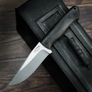 Custom knife by Matthias Leimküller from Solingen in pure handcraft including Kydex by me